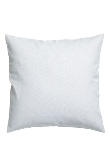 Cotton canvas cushion cover - Light grey - Home All | H&M CN 1