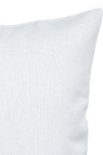 Cotton canvas cushion cover - Light grey - Home All | H&M CN 2