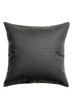Copricuscino in tela di cotone - Grigio antracite - HOME | H&M IT 1