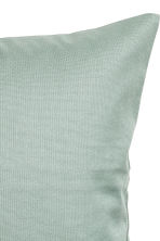 Cotton canvas cushion cover - Dusky green - Home All | H&M CN 2