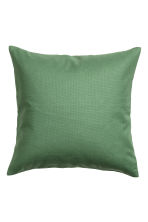 Cotton canvas cushion cover - 苔绿色 - Home All | H&M CN 1