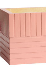 Rectangular wooden box - Dusky pink - Home All | H&M CN 2