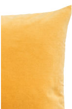 Velvet cushion cover - Mustard yellow -  | H&M 3