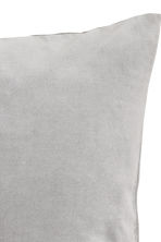 Velvet cushion cover - Grey -  | H&M GB 2