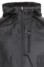 Running jacket with a hood - Black - Men | H&M 4