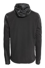 Running jacket with a hood - Black -  | H&M 4