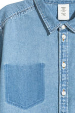 Denim shirt - Denim blue - Ladies | H&M CN 3