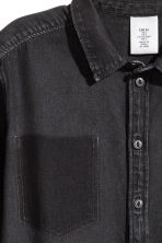 Camicia di jeans - Denim nero - DONNA | H&M IT 3