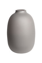 Small glass vase - Grey - Home All | H&M GB 2