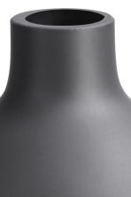 Small glass vase - Anthracite grey - Home All | H&M CA 4