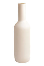 Vase long en verre - Blanc - Home All | H&M FR 2