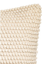 Textured cushion cover - Natural white - Home All | H&M CN 2
