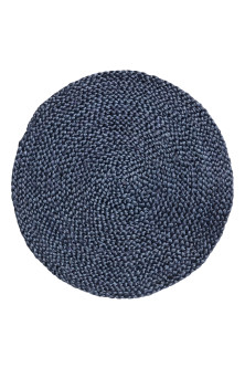 Round jute table mat