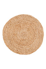 Round jute table mat - Natural - Home All | H&M CN 2