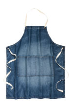 Grembiule in denim - Blu denim scuro - HOME | H&M IT 2