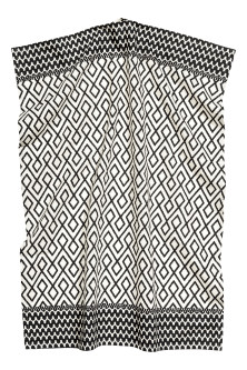 Patterned tea towel