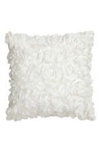 Cushion cover with flowers - White - Home All | H&M CN 1
