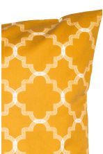 Printed cushion cover - Mustard yellow - Home All | H&M CN 2
