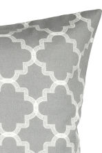 Printed cushion cover - Grey - Home All | H&M CN 2