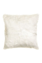 Faux fur cushion cover - White - Home All | H&M CN 1