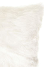 Faux fur cushion cover - White - Home All | H&M CN 2