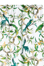 2-pack curtain lengths - White/Birds - Home All | H&M CN 3
