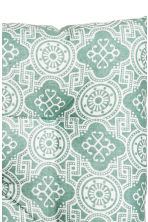 Patterned seat pad - Turquoise - Home All | H&M CN 3