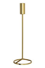 Tall candlestick - Gold - Home All | H&M IE 2