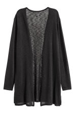 Fine-knit cardigan - Black - Ladies | H&M 2