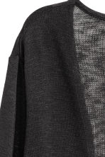 Fine-knit cardigan - Black - Ladies | H&M 3