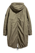 Cotton parka - Khaki green - Ladies | H&M 3