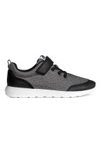 Mesh trainers - Black marl - Kids | H&M 1