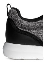 Mesh trainers - Black marl - Kids | H&M 4