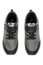 Mesh trainers - Black marl - Kids | H&M CN 2