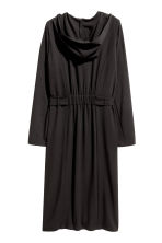 Coat with a hood - Black - Ladies | H&M 3