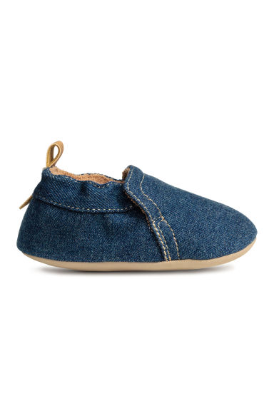 Soft slippers - Dark denim blue - Kids | H&M CN 1