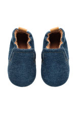 Soft slippers - Dark denim blue - Kids | H&M CN 2