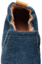 Soft slippers - Dark denim blue - Kids | H&M CN 4