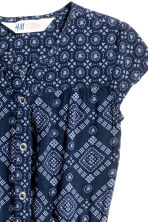 Patterned jumpsuit - Blue -  | H&M CN 3