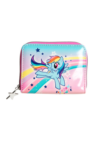 Printed purse - Pink/My Little Pony - Kids | H&M 1