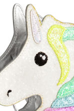 Small shoulder bag - White/Unicorn - Kids | H&M CN 3