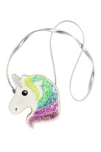 Small shoulder bag - White/Unicorn - Kids | H&M CN 1