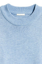 Knitted jumper - Light blue marl - Ladies | H&M CN 3