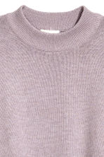 Knitted jumper - Light purple marl - Ladies | H&M 3