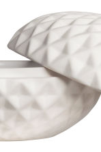 Textured trinket box - White - Home All | H&M CN 4