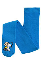 2-pack tights - Grey/Snoopy - Kids | H&M 2