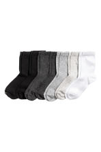 7-pack socks - Black - Kids | H&M CN 1