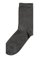 7-pack socks - Black -  | H&M CN 4