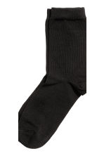 7-pack socks - Black -  | H&M CN 2