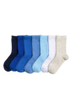 7-pack socks - Blue - Kids | H&M 1